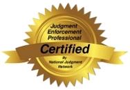 judgment enforcement certified